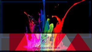 انتخاب رنگ ها ی مناسب برای طراحی قالب سایت