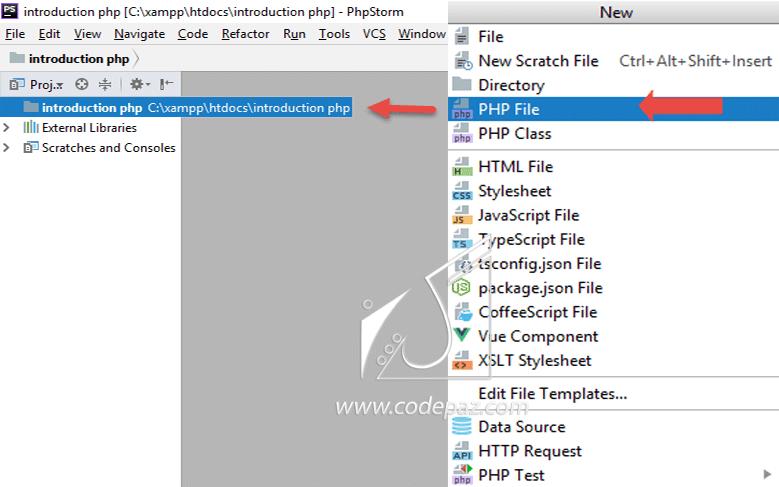 جلسه اول Php pic php project pic click and choose file format