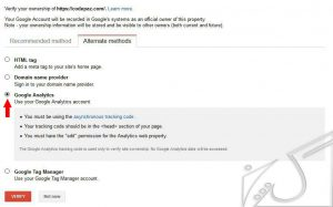 Google Analytics برای معرفی سایت به گوگل