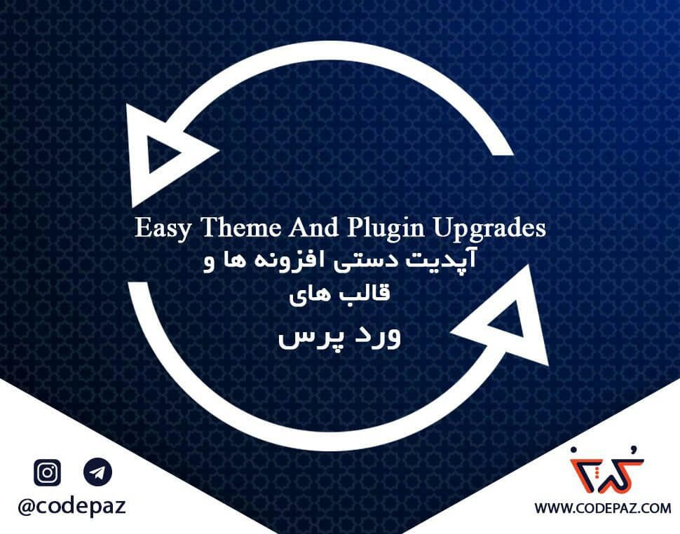 افزونه Easy Theme and Plugin Upgrade